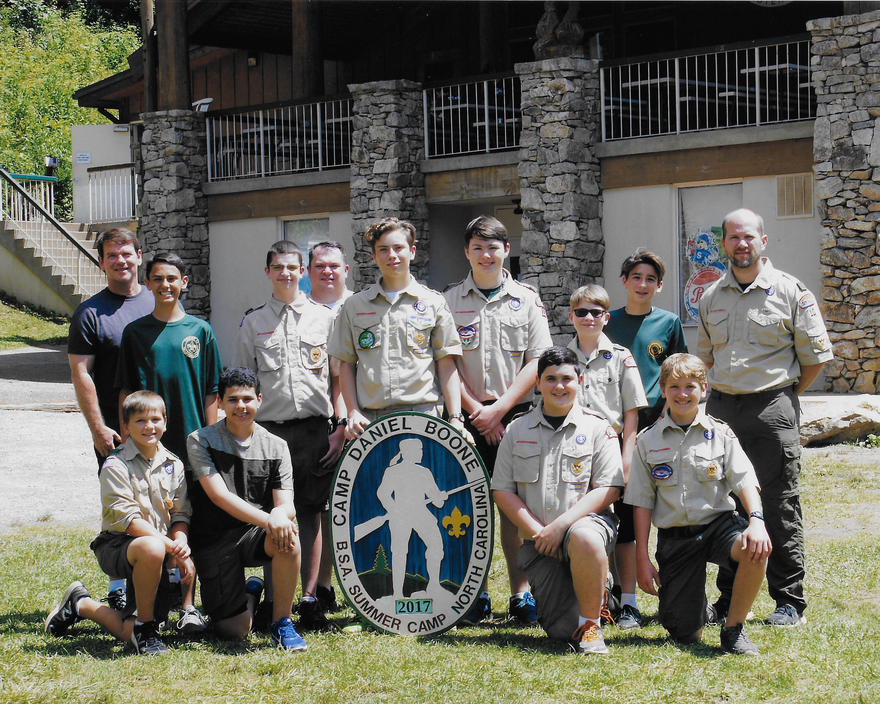 Photos of scouts